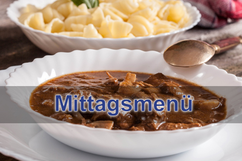 Mittagsmenue